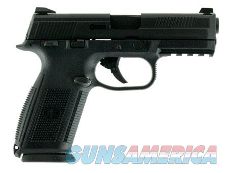 "FN America LE 66948 FNS-40  40 Smith & Wesson (S&W) Double 4"" 14+1 Black Interchangeable Backstrap  Guns > Pistols > F Misc Pistols"