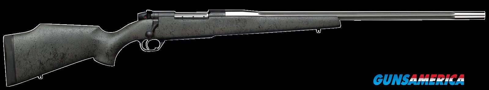 "Weatherby MARS240WR4O Mark V Accumark RC Bolt 240 Weatherby Magnum 24"" 5+1 Synthetic Gray w/Blk  Guns > Rifles > W Misc Rifles"