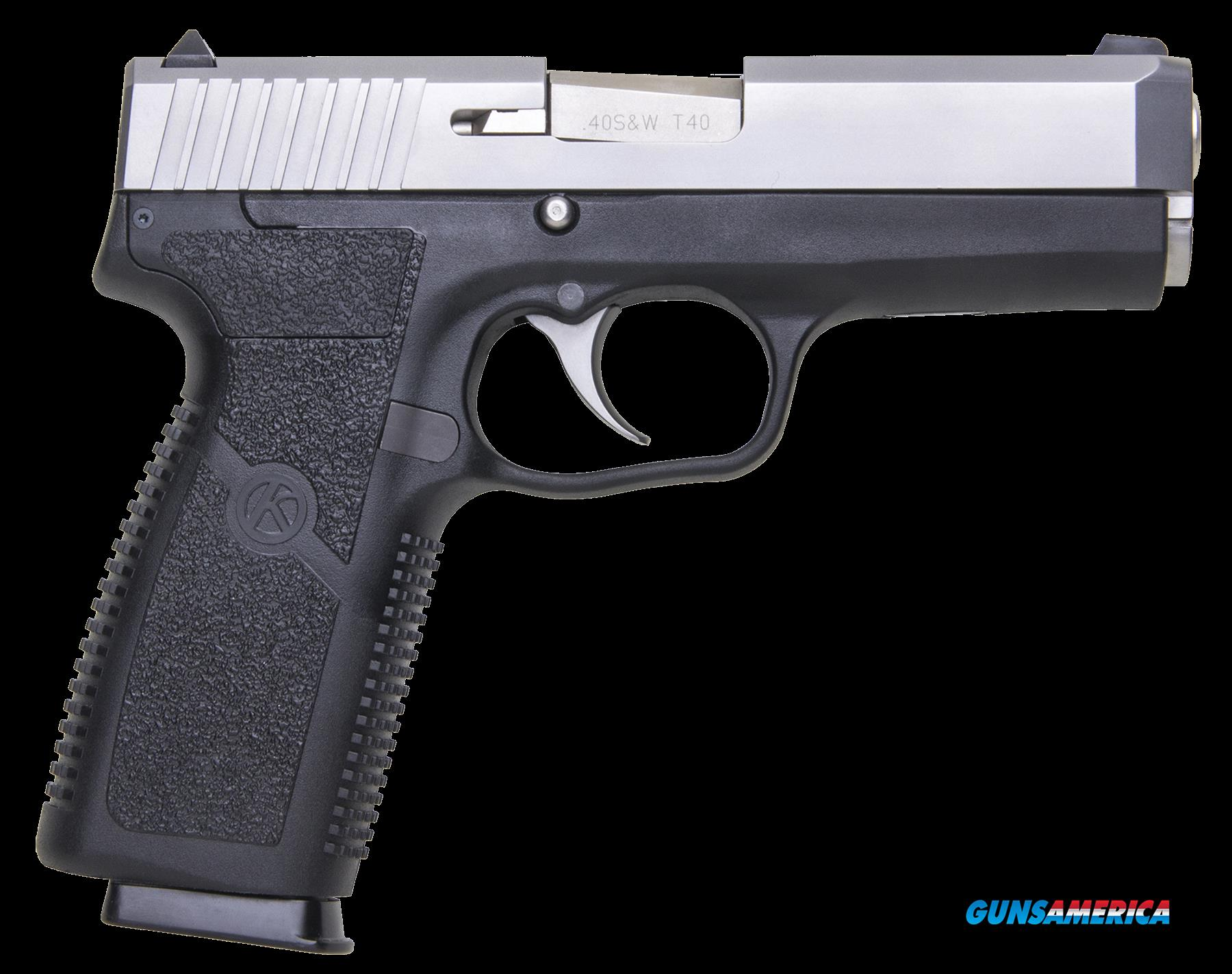 "Kahr Arms CT4043 CT40 DAO 40S&W 4"" 7+1 Black Polymer Frame Stainless  Guns > Pistols > K Misc Pistols"