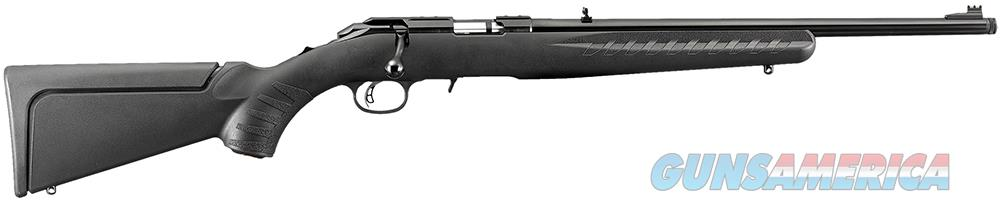 "Ruger 8314 American Rimfire Compact Bolt 17 Hornady Magnum Rimfire (HMR) 18"" TB 9+1 Synthetic Black  Guns > Rifles > Ruger Rifles > American"