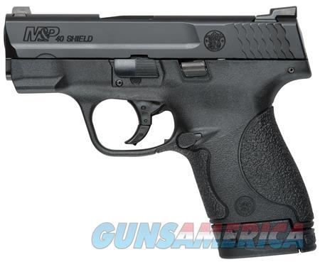 "Smith & Wesson 10214 M&P 40 Shield 40 S&W Double 3.1"" 6+1/7+1 TNS Black Polymer Grip/Frame Black  Guns > Pistols > Smith & Wesson Pistols - Autos > Shield"