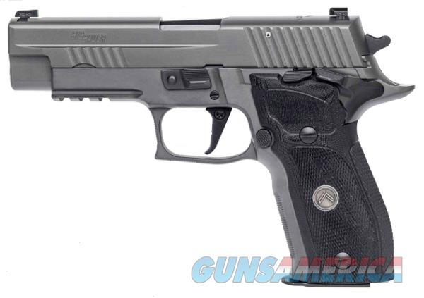 "Sig Sauer E26R9LEGIONS P226 Full Size Legion Single 9mm Luger 4.4"" 15+1 Black G10 Grip Gray PVD  Guns > Pistols > Sig - Sauer/Sigarms Pistols > P226"