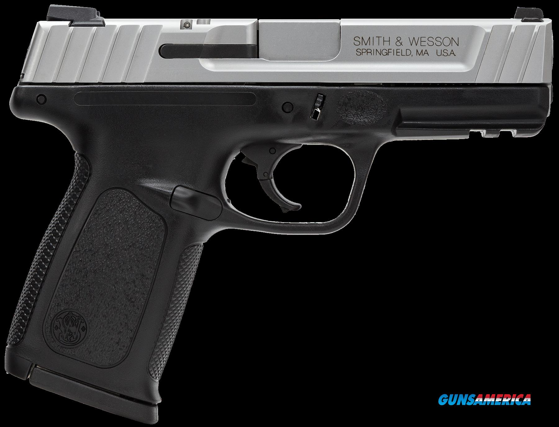 "Smith & Wesson 123903 SD VE *CA Compliant* Double 9mm 4"" 10+1 Black Polymer Grip Black  Guns > Pistols > S Misc Pistols"
