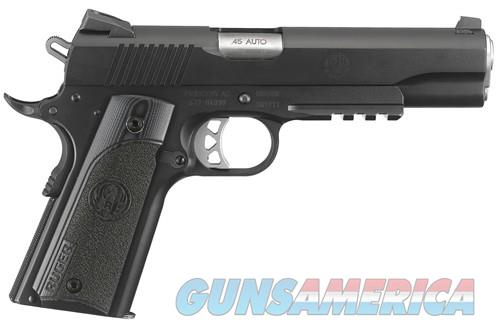 Ruger RUGER SR1911 .45ACP FS 8-SHOT NITRIDE G10 GRIPS W/RAIL(TALO) 6715  Guns > Pistols > Ruger Semi-Auto Pistols > 1911