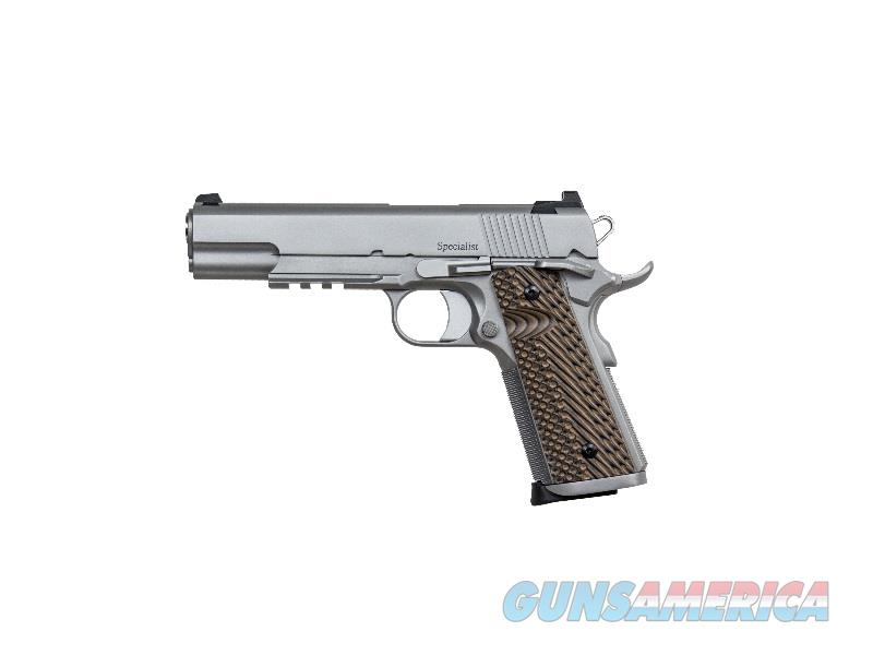 "Dan Wesson 01893 1911 Specialist Single 9mm 5"" 10+1 Brown VZ Operator II G10 Grip Stainless  Guns > Pistols > CZ Pistols"