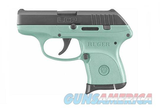 Ruger LCP 380ACP BL/TURQUOISE 6+1 3746  Guns > Pistols > R Misc Pistols