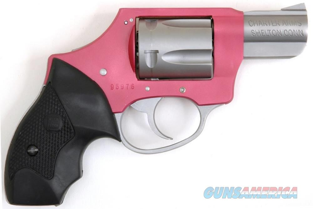 Charter Arms CHARTER PINK LADY 38SPC 2 DAO RUBBER GRIPS / DAO / 5-SHOT  Guns > Pistols > C Misc Pistols