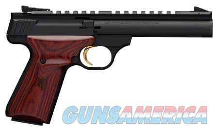 "Browning 051528490 Buck Mark Field Target 22 LR 5.5"" 10+1 Black Aluminum Alloy Laminate Cocobolo  Guns > Pistols > Browning Pistols > Buckmark"