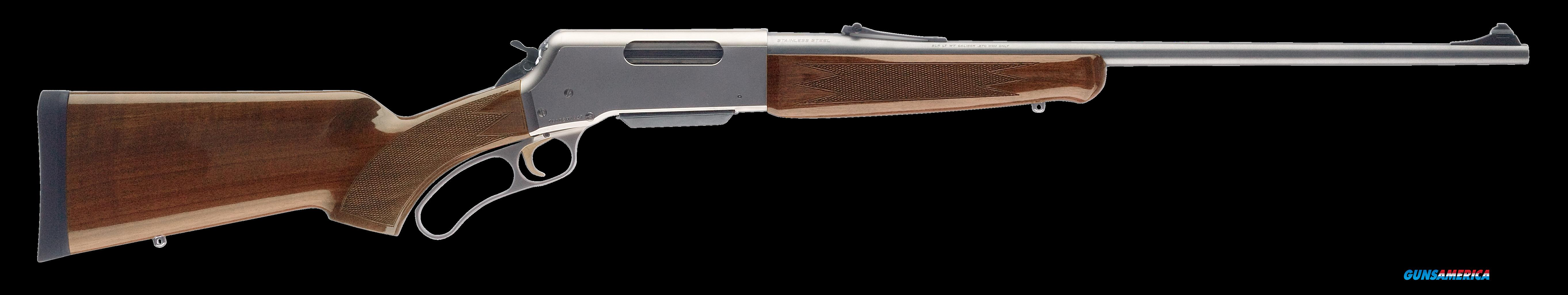"Browning 034018108 BLR Lightweight Stainless with Pistol Grip Lever 223 Remington 20"" 4+1 Walnut  Guns > Rifles > Browning Rifles > Lever Action"
