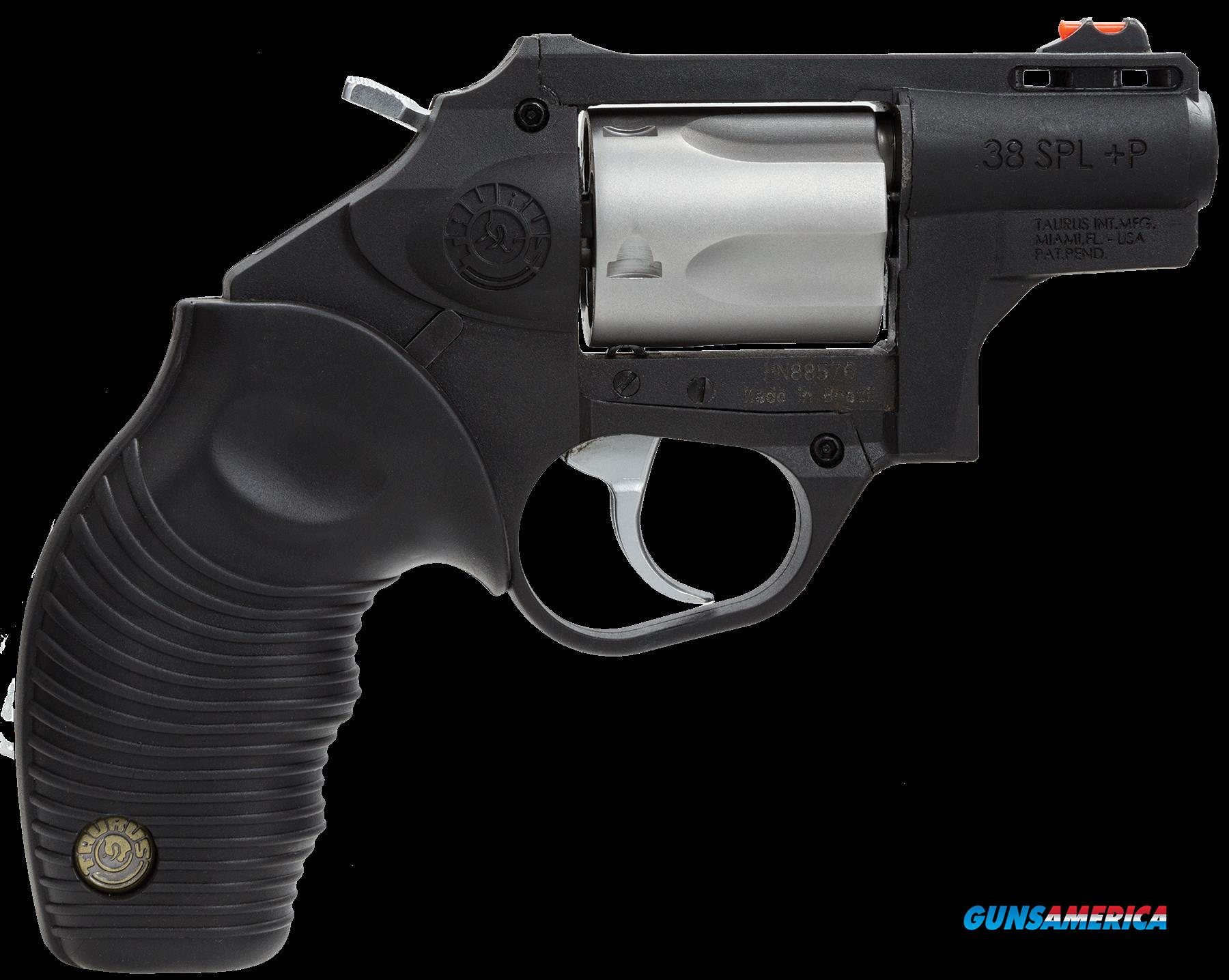 "Taurus 2850029PFS 85 Protector Polymer Single/Double 38 Special 2.5"" 5 rd Black Ribber Grip Black  Guns > Pistols > Taurus Pistols > Revolvers"