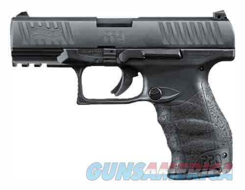 "Walther WALTHER PPQ M2 9MM 4"" 15-SHOT AS BLACK POLYMER 2796066  Guns > Pistols > Walther Pistols > Post WWII > P99/PPQ"