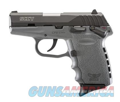 SCCY Industries CPX-1 9MM BLK/GRAY 10+1 SFTY SNIPER GRAY POLYMER FRAME  Guns > Pistols > S Misc Pistols