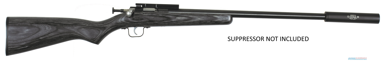 Keystone Sporting Arms CRICKETT 22LR BL/BLACK LAM TB SINGLE-SHOT   THREADED BARREL  Guns > Rifles > K Misc Rifles