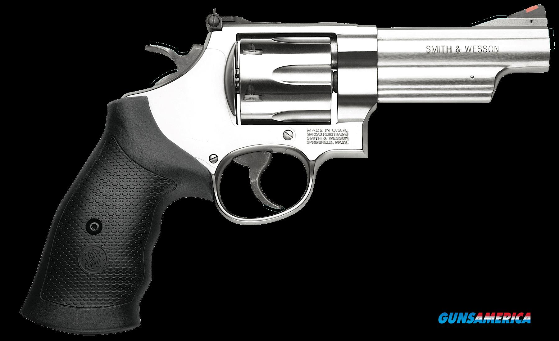 "Smith & Wesson 163603 629 Single/Double 44 Remington Magnum 4.125"" 6 rd Black Synthetic Grip  Guns > Pistols > Smith & Wesson Revolvers > Model 629"