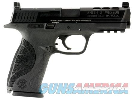 "Smith & Wesson 10099 M&P 40 Ported 40 S&W Double 4.25"" 15+1 Black Interchangeable Backstrap Grip  Guns > Pistols > Smith & Wesson Pistols - Autos > Polymer Frame"