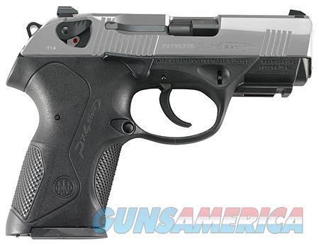 "Beretta USA JXC4F51 Px4 Storm Compact Inox 40 S&W Single/Double 3.27"" 12+1 Black Interchangeable  Guns > Rifles > Beretta Rifles > Storm"