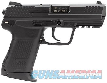 "HK 745037A5 HK45C Compact V7 LEM 45 ACP Double 3.94"" 8+1 Black Synthetic Grip Black Slide  Guns > Pistols > Heckler & Koch Pistols > Polymer Frame"