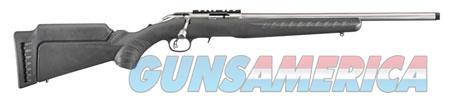"Ruger 8353 American Rimfire Standard 17 HMR 18"" 9+1 Fixed Stock Satin Stainless  Guns > Rifles > R Misc Rifles"