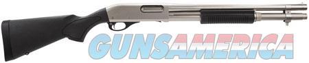 "Remington Firearms 25012 870 Special Purpose Marine Magnum Nickel Pump 12 Gauge 18"" 3"" 6+1 Black  Guns > Shotguns > Remington Shotguns  > Pump > Tactical"