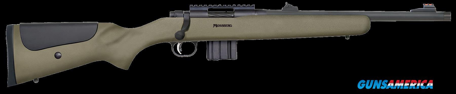 "Mossberg 27698 MVP LR Tactical Bolt 223 Remington/5.56 NATO 16.25"" 10+1 Synthetic Green Stk Blued  Guns > Rifles > MN Misc Rifles"