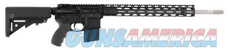"Radical Firearms FR1822NOSSSM AR15 RPR Semi-Automatic 22 Nosler 18"" 30+1 6-Position Black Stk Black  Guns > Rifles > Tactical Rifles Misc."