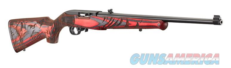 Ruger 10/22 WILD HOG 22LR BL/RED LAM 31107 ENGRAVED WILD HOG STOCK  Guns > Rifles > R Misc Rifles