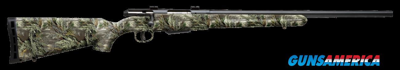 "Savage 19978 25 Walking Varminter Bolt 17 Hornet 22"" 4+1 Synthetic Realtree Xtra Green Stk Black  Guns > Rifles > Savage Rifles > Standard Bolt Action"