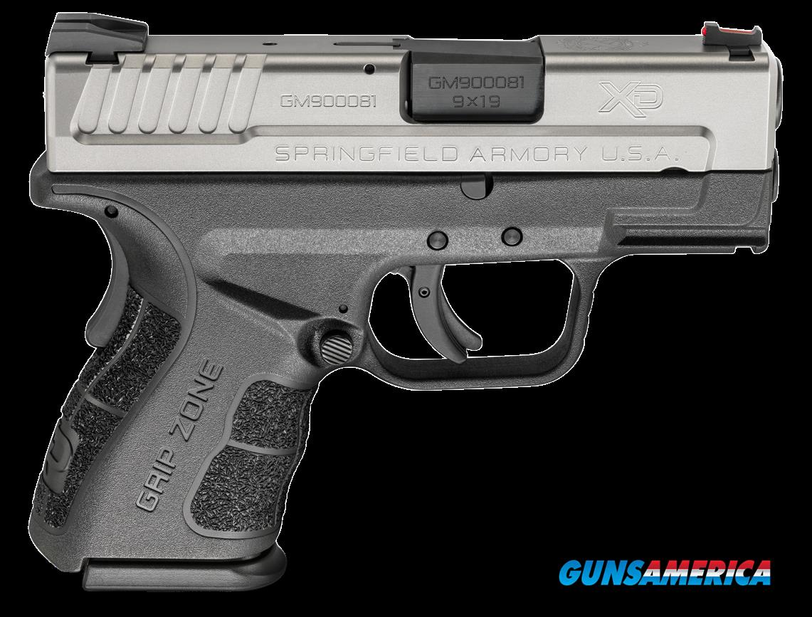 "Springfield Armory XDG9821HC XD Mod.2 Sub-Compact Double 9mm 3"" 13+1/16+1 Black Polymer Grip  Guns > Pistols > Springfield Armory Pistols > XD-Mod.2"