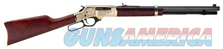 "Henry H009BWL Brass Wildlife   Lever 30-30 Winchester 20"" 5+1 American Walnut Stk Brass  Guns > Rifles > Henry Rifles - Replica"