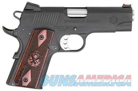 "Springfield Armory PI9126L 1911 Range Officer Compact 45 ACP Single 4"" 6+1 Rosewood Grip Black  Guns > Pistols > S Misc Pistols"