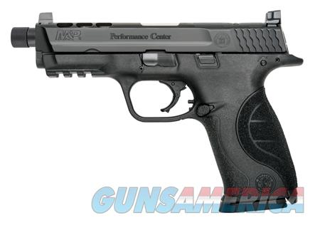 """Smith & Wesson 10267 M&P 9 Double 9mm Luger 4.25"""" Ported TB 17+1 Black Interchangeable Backstrap  Guns > Pistols > Smith & Wesson Pistols - Autos > Polymer Frame"""