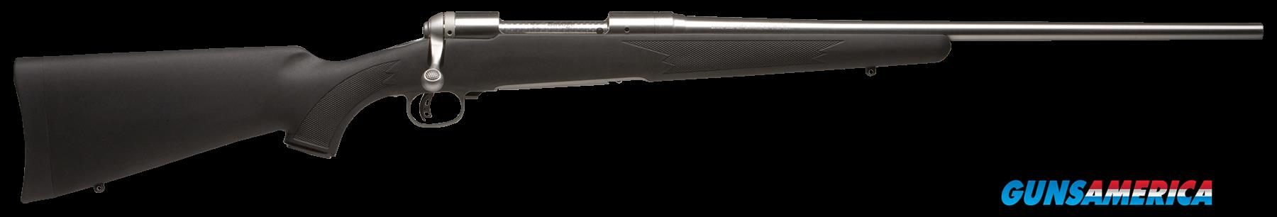 "Savage 22453 16/116 FCSS Bolt 338 Federal 22"" 2+1 Synthetic Black Stk Stainless Steel  Guns > Rifles > S Misc Rifles"