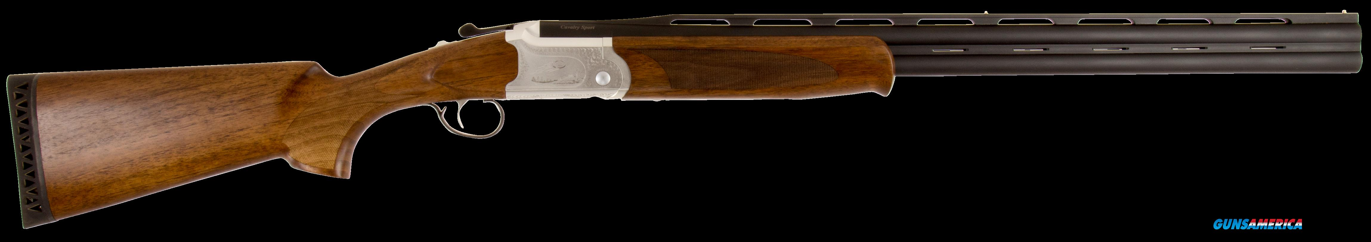 "ATI GKOF12SP Cavalry Over/Under 12 Gauge 28"" 3"" Turkish Walnut Stk Engraved Rcvr  Guns > Shotguns > American Tactical Import"