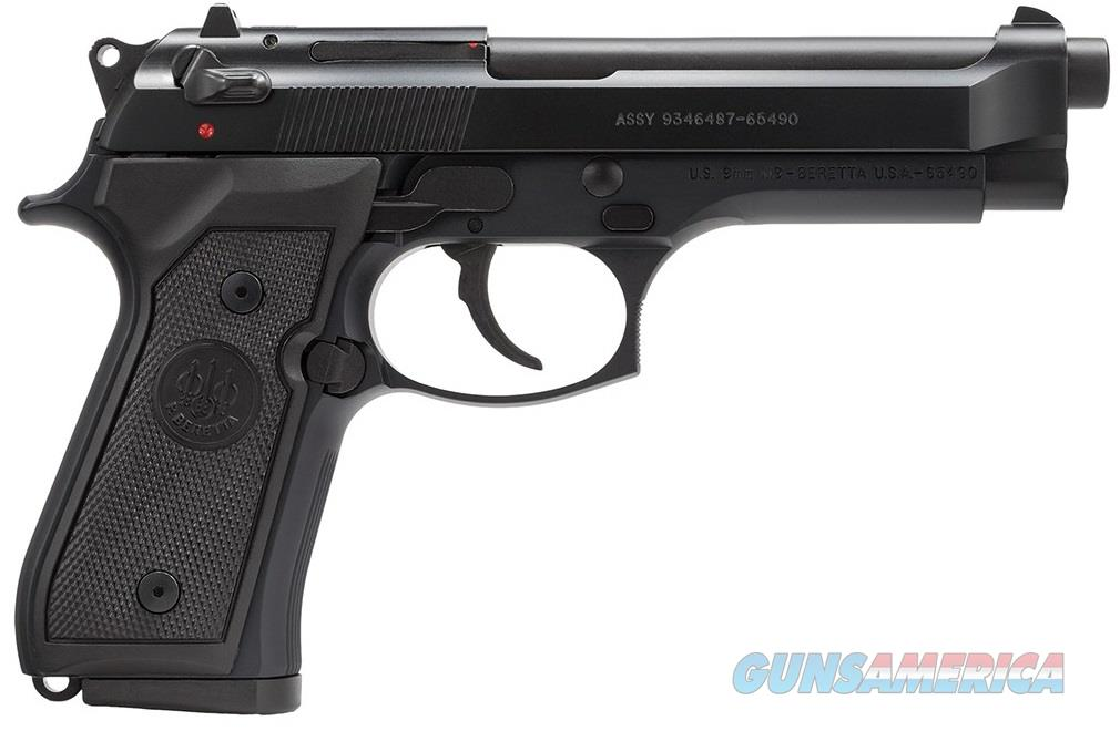 Beretta 92 M-9 9MM BL/SY 4.9 10+1 CA CALIFORNIA COMPLIANT MODEL  Guns > Pistols > Beretta Pistols > Model 92 Series