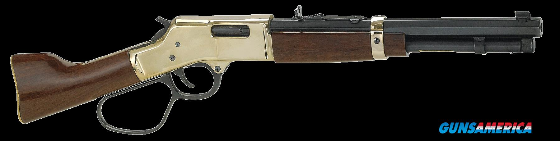 "Henry H006MML Mare''s Leg Pistol Lever 357 Magnum 12.904"" 5+1 Walnut Brass Receiver/Blued Barre  Guns > Rifles > Henry Rifle Company"