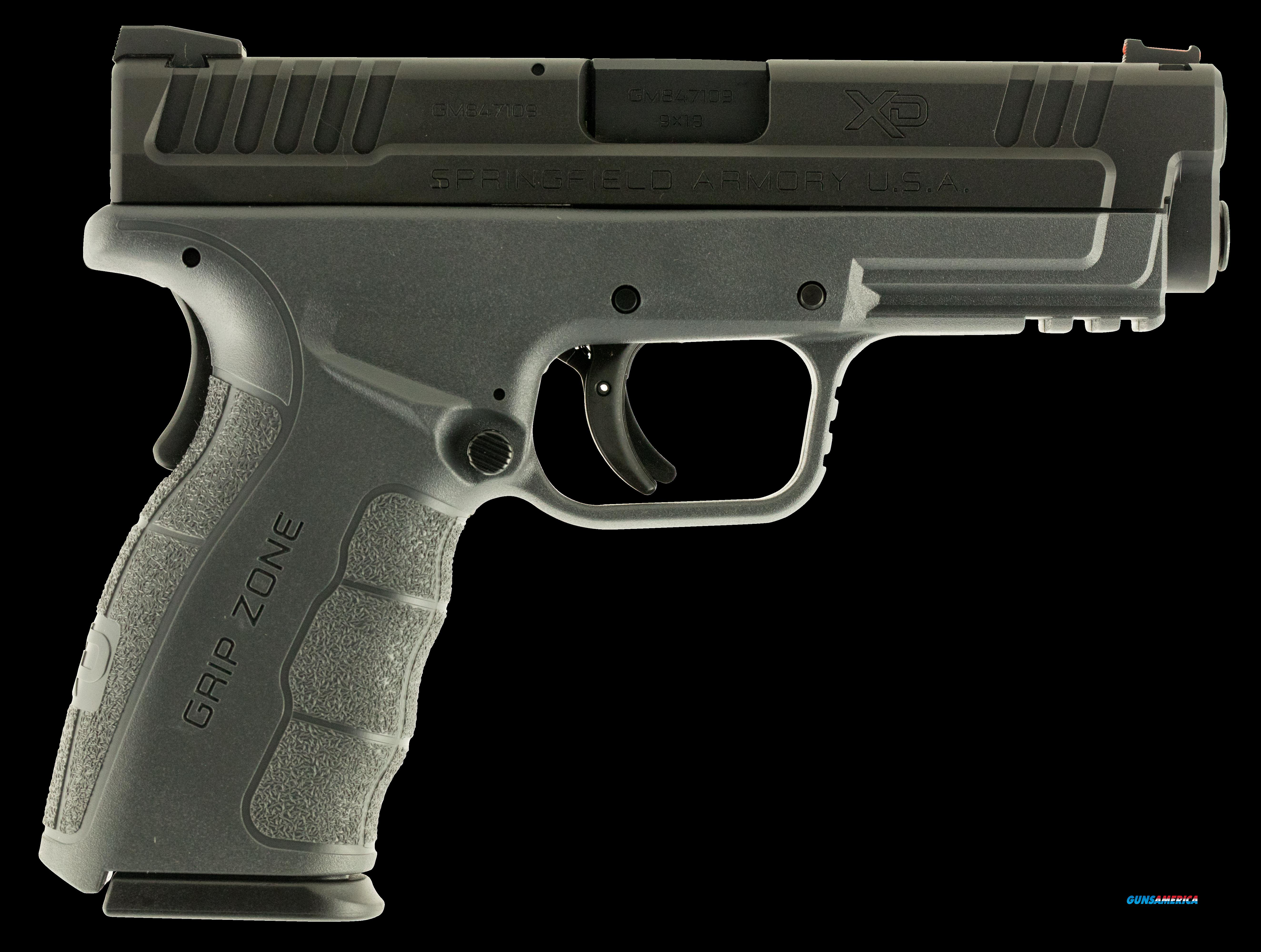 "Springfield Armory XDG9101Y XD Mod.2 Service Double 9mm 4"" 10+1 Gray Polymer Grip Black Melonite  Guns > Pistols > S Misc Pistols"