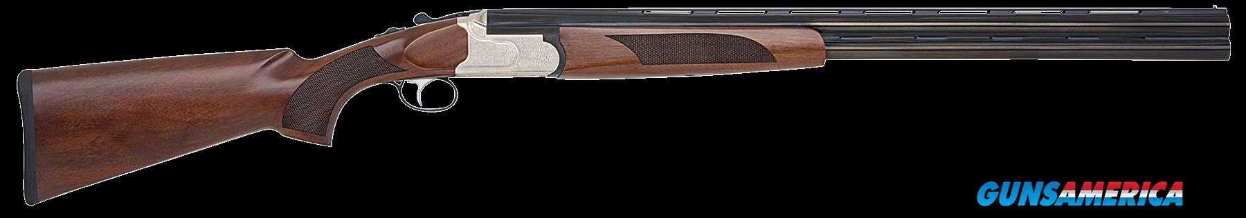 "Mossberg 75412 Silver Reserve II Field with Extractors Over/Under 12 Gauge 28"" 3"" Black Walnut Stk  Guns > Shotguns > Mossberg Shotguns > Over/Under"