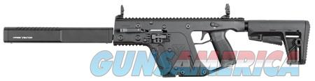 "Kriss USA KV90CBL20 Vector Gen II CRB Semi-Automatic 9mm Luger 16"" 17+1 Black 6 Position Synthetic  Guns > Pistols > Kriss Tactical Pistols"