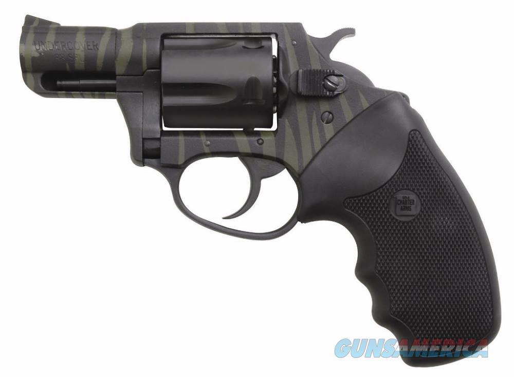 Charter Arms TIGER II 38SPC GREEN/BLACK 2 GREEN/BLACK STRIPE  Guns > Pistols > Charter Arms Revolvers