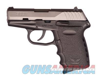 SCCY Industries CPX-2 9MM SS/BLACK 10+1 BLACK POLYMER FRAME|NO SAFETY  Guns > Pistols > S Misc Pistols