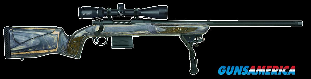 "Mossberg 27975 MVP Varmint Scoped Bolt 308 Winchester/7.62 NATO 24"" 10+1 Laminate Benchrest Gray Stk  Guns > Rifles > MN Misc Rifles"