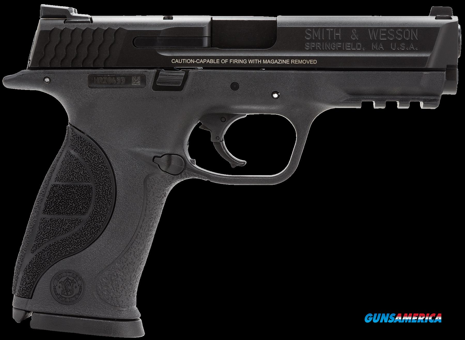 "Smith & Wesson 178035 M&P 9 Pro Double 9mm Luger 4.25"" 17+1 Black Interchangeable Backstrap Grip  Guns > Pistols > S Misc Pistols"