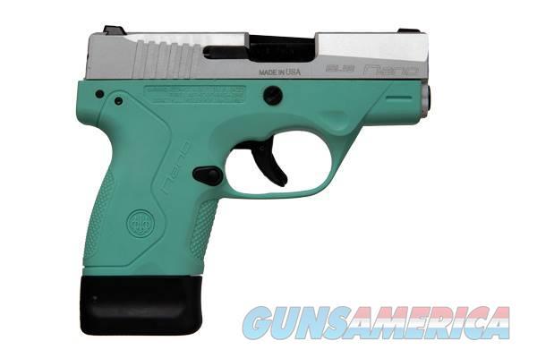 Beretta NANO 9MM 6+1 SS/ROBIN EGG BLU   Guns > Pistols > B Misc Pistols
