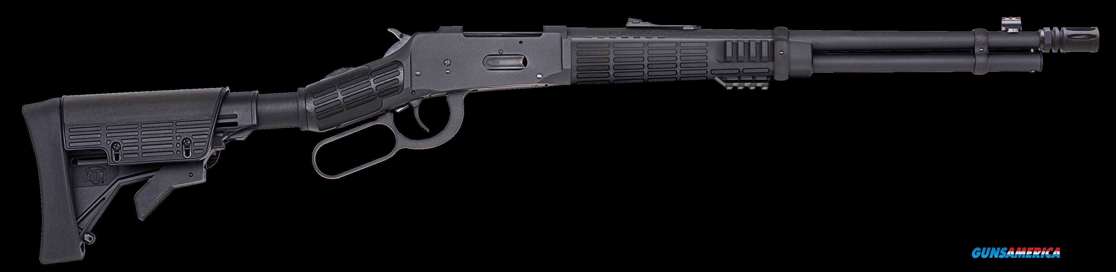 "Mossberg 41026 464 SPX Lever 30-30 Win 16.3"" 6+1 6-Position Black Stk Black  Guns > Rifles > Mossberg Rifles > Lever Action"