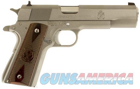 "Springfield Armory PB9151LCA 1911 Mil-Spec *CA Compliant* 45 ACP Single 5"" 7+1 Cocobolo Grip  Guns > Pistols > S Misc Pistols"
