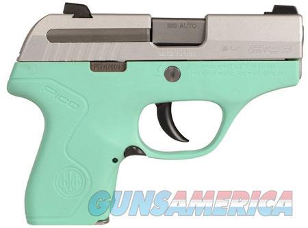 "Beretta USA JMP8D75 Pico 380 Double 380 Automatic Colt Pistol (ACP) 2.7"" 6+1 AS Robin Egg Blue  Guns > Pistols > B Misc Pistols"