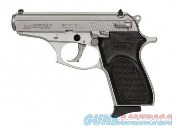 Bersa THUNDER 380 NICKEL LITE 380ACP 8+1 | 3.5 | NICKEL/MATTE PARTS  Guns > Pistols > B Misc Pistols