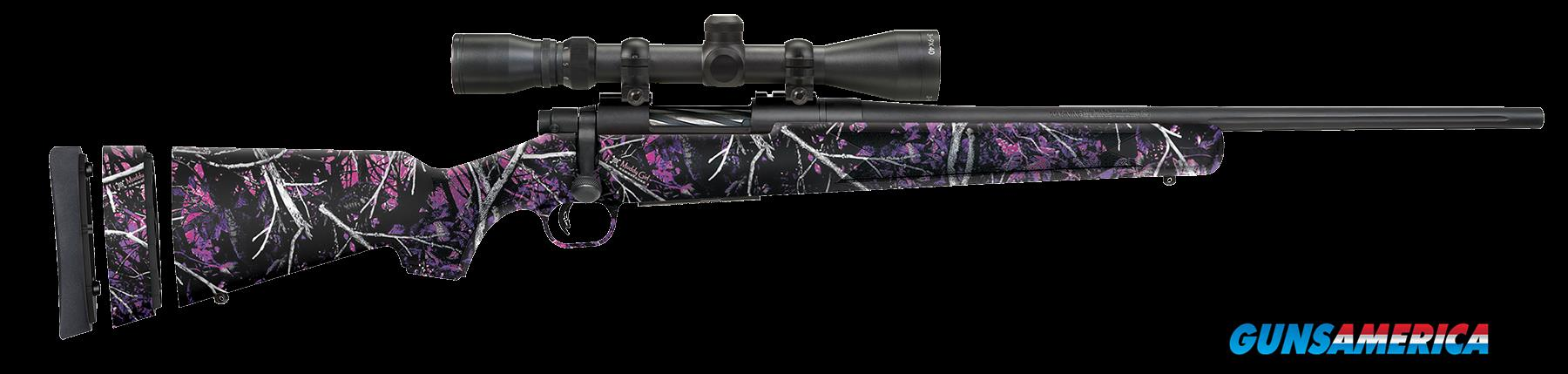"Mossberg 27926 Patriot Youth with Scope Bolt 243 Win 20"" 5+1 Synthetic Muddy Girl Stk Blued  Guns > Rifles > MN Misc Rifles"