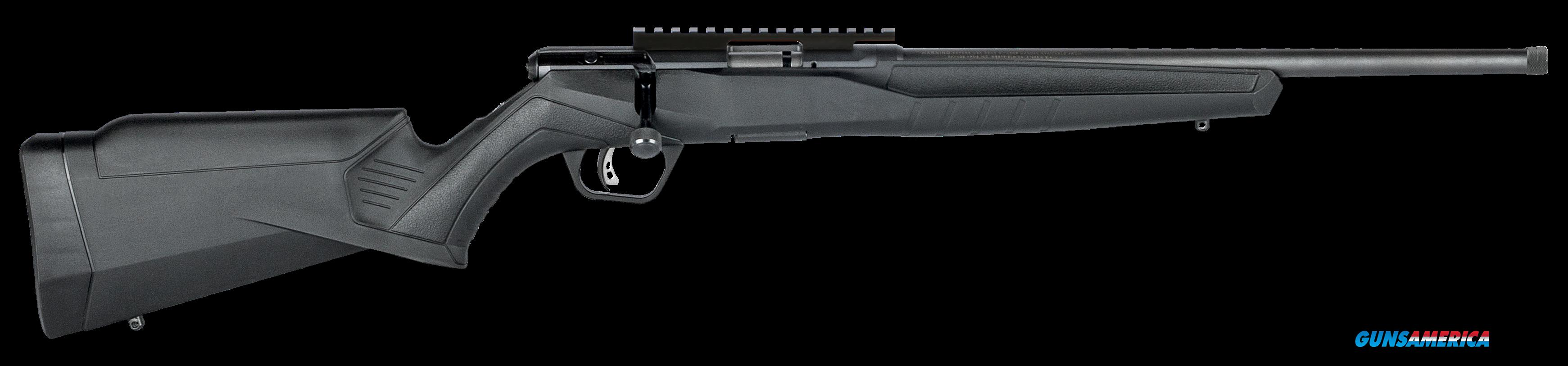 "Savage 70803 B17 FVSR Bolt 17 Hornady Magnum Rimfire (HMR) 16.25"" 10+1 Synthetic Black Stk Black  Guns > Rifles > S Misc Rifles"