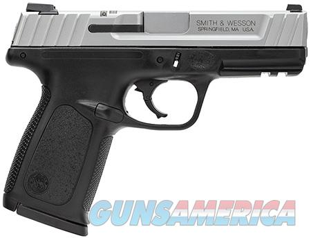 """Smith & Wesson 123903 SD VE *CA Compliant* Double 9mm Luger 4"""" 10+1 Black Polymer Grip Stainless  Guns > Pistols > Smith & Wesson Pistols - Autos > Polymer Frame"""